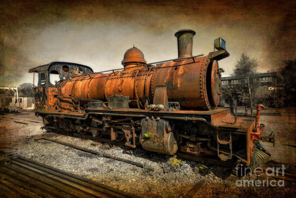 Loco Wall Art - Photograph - End Of The Line by Adrian Evans