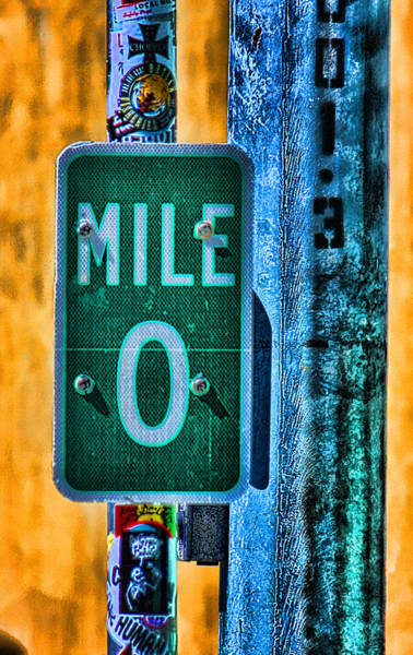 Road Sign Photograph - End Of The Line by Joetta West