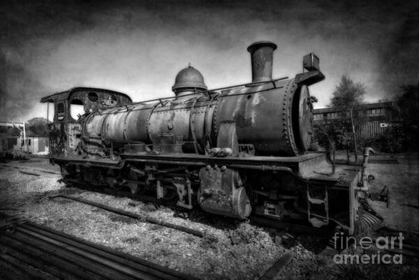 Loco Wall Art - Photograph - End Of The Line V2 by Adrian Evans