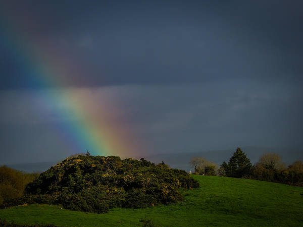 Photograph - End Of The Rainbow In County Clare by James Truett