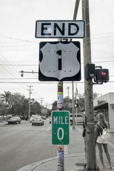 End Of The Road Baby Key West Art Print