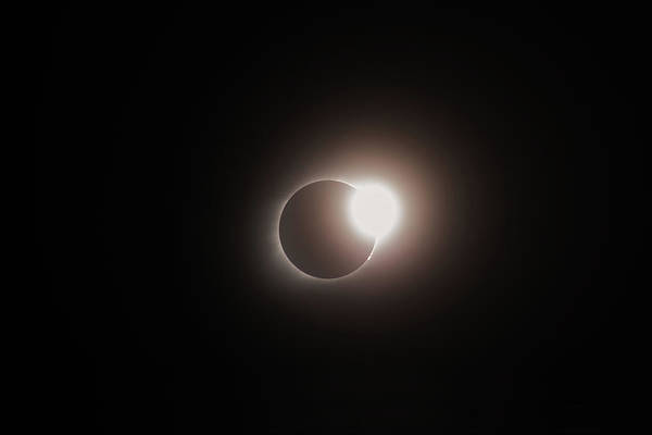 Photograph - End Of Totality - Total Solar Eclipse by Gregory Ballos
