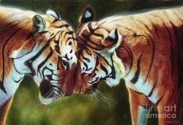 India Painting - Endangered Moments by Charice Cooper