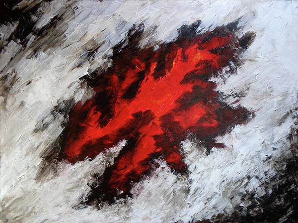 Painting - Endeavor Abstract Expressionism by Karla Beatty