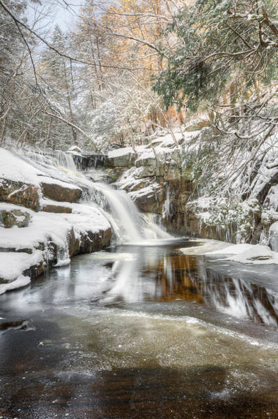 Photograph - Enders Falls Winter by Bill Wakeley