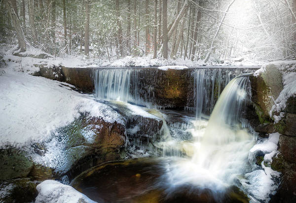 Photograph - Enders Ice by Bill Wakeley