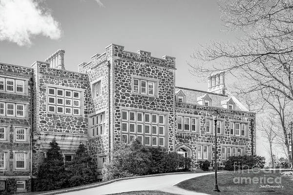 Photograph - Endicott College College Hall Front by University Icons