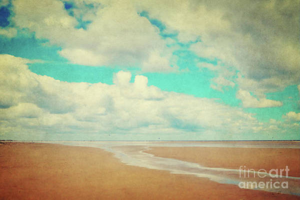 Mixed Media - Endless Beach by Angela Doelling AD DESIGN Photo and PhotoArt
