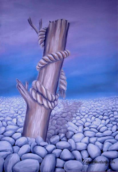 Wall Art - Painting - Endless Stillness by Faye Anastasopoulou