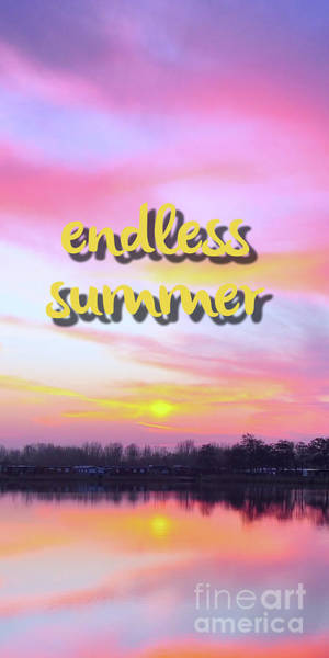 Endless Wall Art - Digital Art - Endless Summer Design by Edward Fielding
