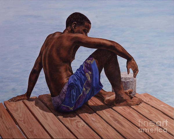 Painting - Endless Summer by Roshanne Minnis-Eyma