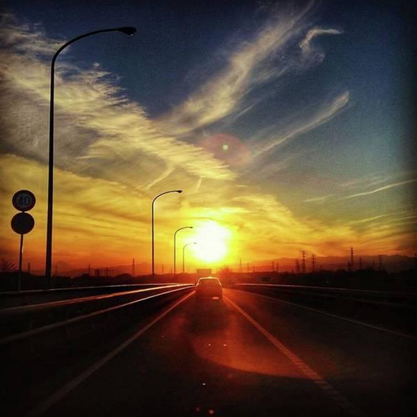 Strong Wall Art - Photograph - Endless Sunset by Nori Strong