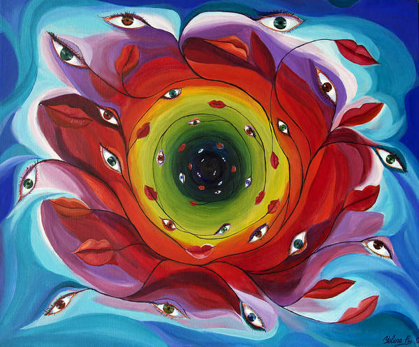 Endless Love Painting - Endless Tunnel Of Love by Yelena Rubin