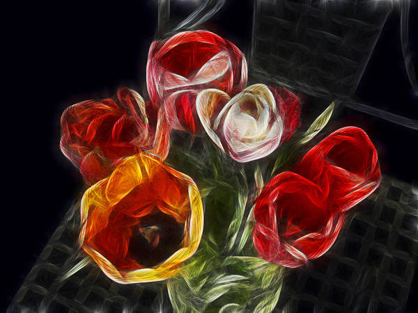 Wall Art - Photograph - Energetic Tulips by Joachim G Pinkawa