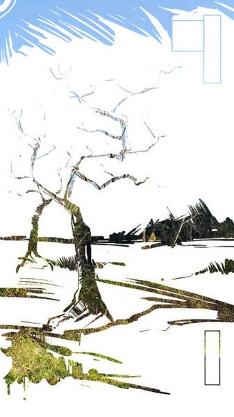 Painting - Energy . Tree by John Jr Gholson