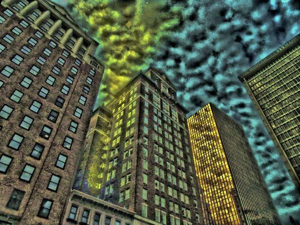 Digital Art - Energy Chute by Vincent Green
