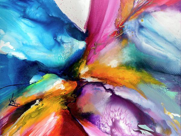 Wall Art - Painting - Energy Flow #5 by Jonas Gerard