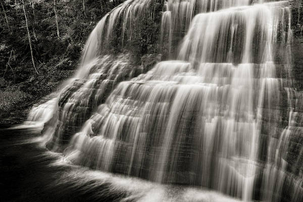 Upstate New York Wall Art - Photograph - Lower Falls #3 by Stephen Stookey