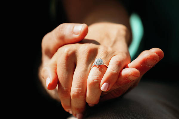 Engagement Ring Art Print
