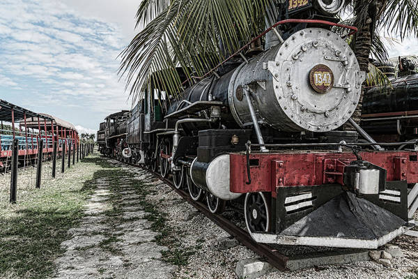 Photograph - Engine 1342 Parked by Sharon Popek
