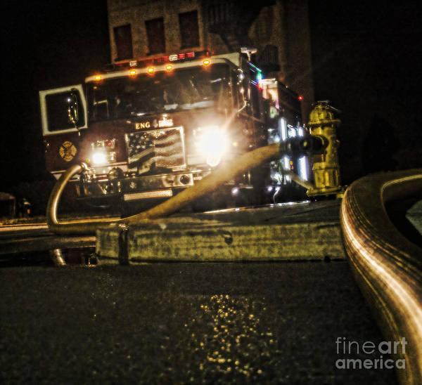 Photograph - Engine 4 by Jim Lepard