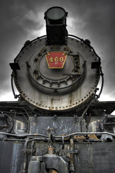 Train Photograph - Engine 460 Front And Center by Scott Wyatt