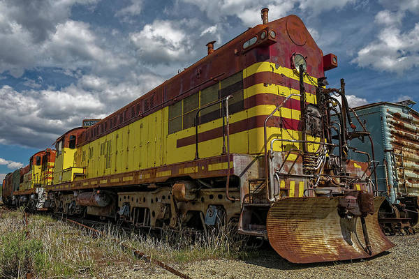 Photograph - Engine #527 by Thomas Hall