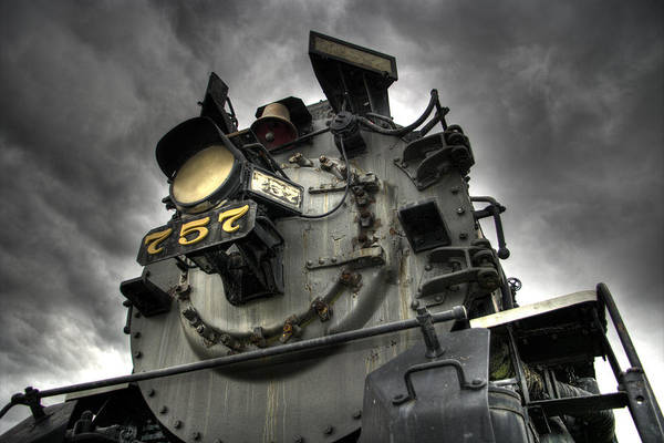 Hdr Wall Art - Photograph - Engine 757 by Scott Wyatt