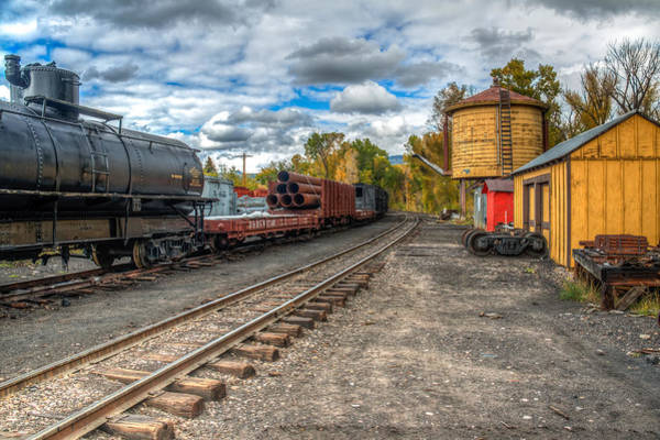 Chama Photograph - Engine Needed by Tom Weisbrook