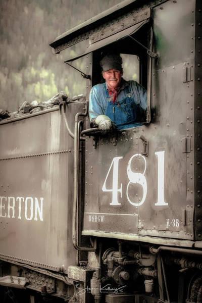 Photograph - Engineer 481 by Steve Kelley