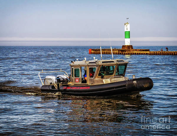 Photograph - Engineers At Grand Haven by Nick Zelinsky