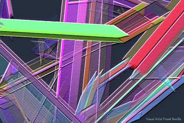 Digital Art - Engineer's Office by Visual Artist Frank Bonilla