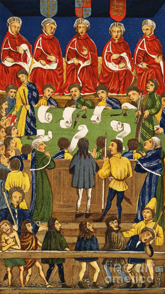 Painting - England: Court, 15th Century by Granger