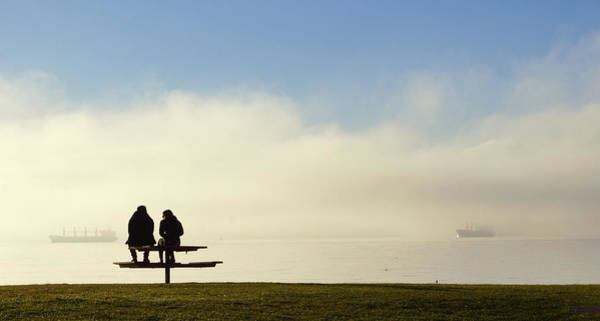 Photograph - English Bay Buddies by Cameron Wood