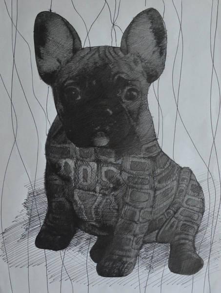 English Bulldog Painting - English Bulldog by Mirek Bialy
