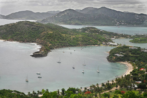 Photograph - English Harbor Antigua by Gary Slawsky