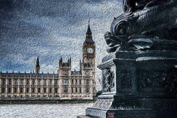 Photograph - English Houses Of Parliament  by John Williams