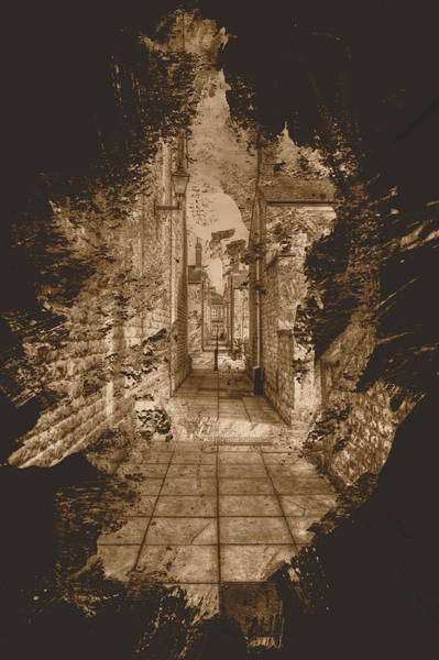 Photograph - English Narrow Back Street Fine Art by Jacek Wojnarowski