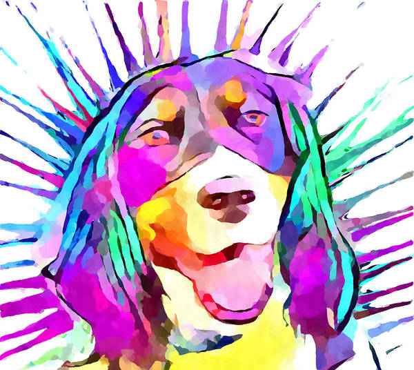 Wall Art - Painting - English Springer Spaniel by Chris Butler
