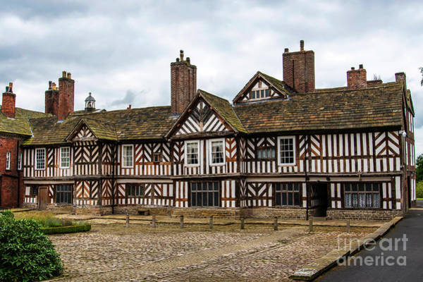 Photograph - Historic Tudor Timbered Hall by Brenda Kean