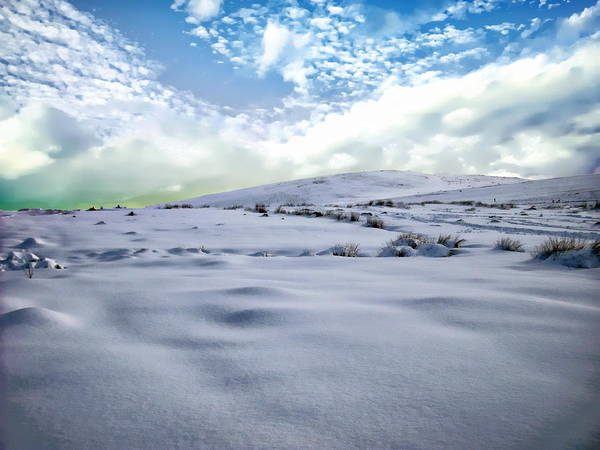 Photograph - English Winter Scene by Anthony Dezenzio