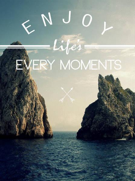 Geek Photograph - Enjoy Life Every Momens by Mark Ashkenazi
