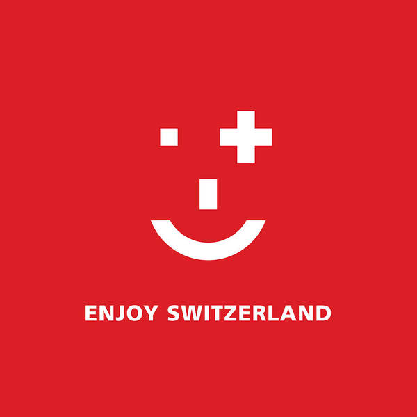 Digital Art - Enjoy Switzerland by Murielle Sunier