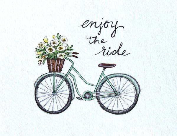 Painting - Enjoy The Ride by Elizabeth Robinette Tyndall