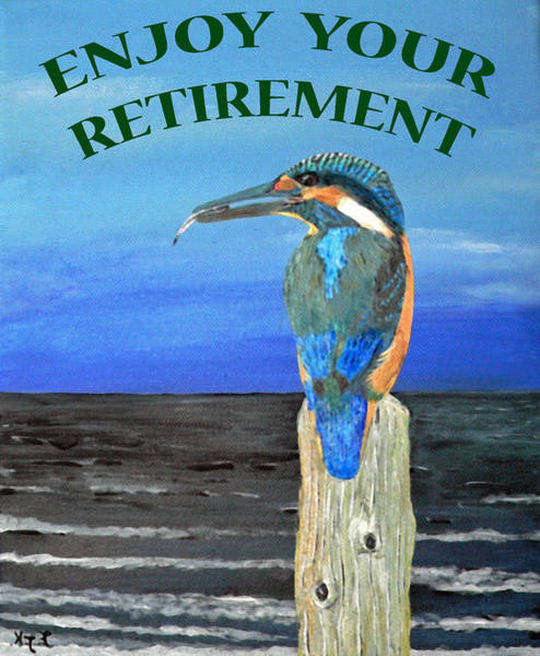 Painting - Enjoy Your Retirement by Eric Kempson