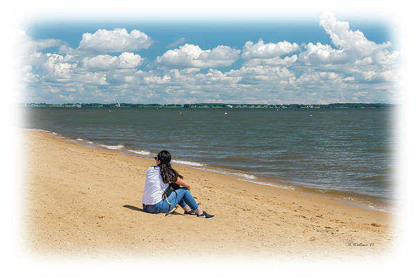 Sandy Point State Park Photograph - Enjoying The Chesapeake by Brian Wallace