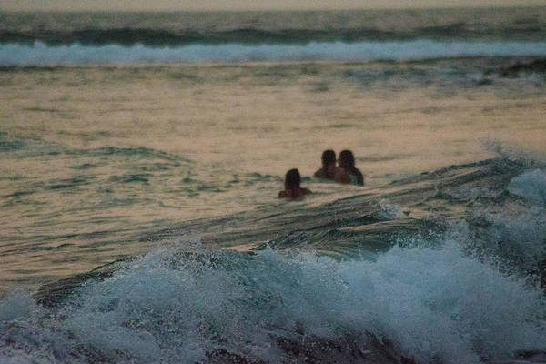 La Libertad Photograph - Enjoying The Ocean by Totto Ponce