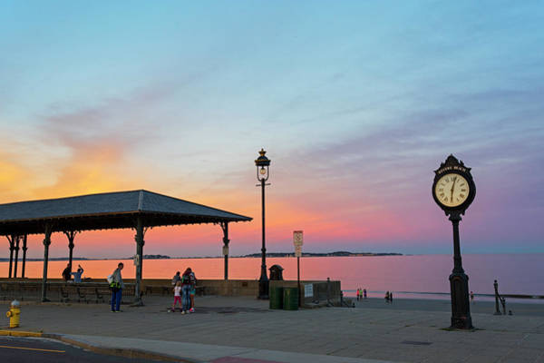 Photograph - Enjoying The Sunset On Revere Beach Revere Ma by Toby McGuire