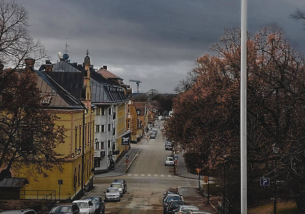 Photograph - Enkoping From Church  by Leif Sohlman