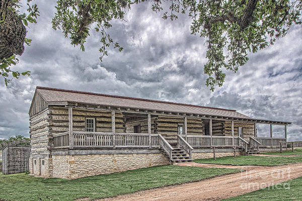 Photograph - Enlisted Men's Quarters by Sam Stanton